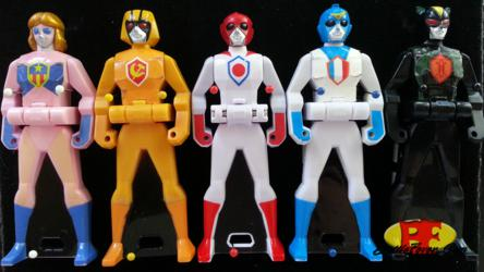 Gokaiger - Battle Fever Ranger Keys