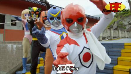 Gokaiger Movie - Battle Fever 1