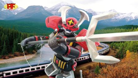 Battle Fever Robo - GX-30 with Pitchfork and
